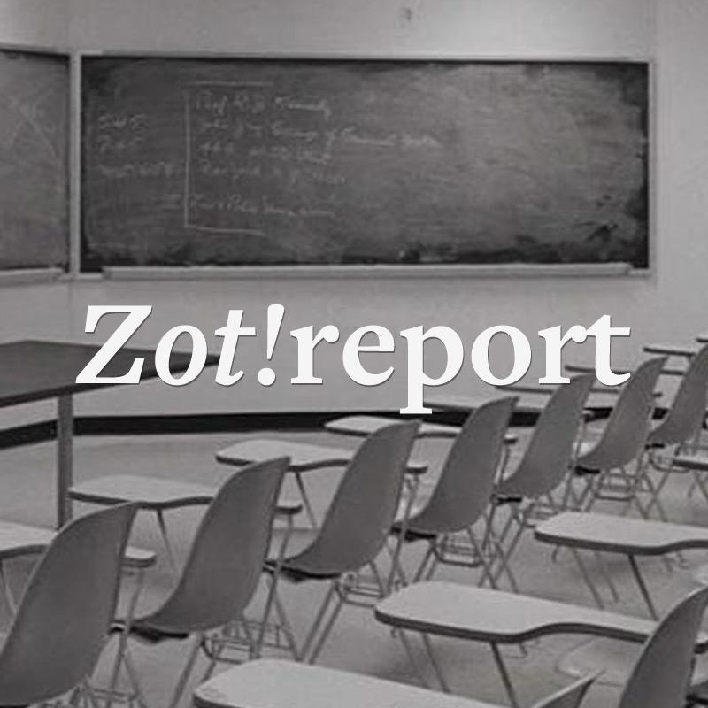 Website development case study for Zot Report