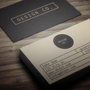 Download: Retro Minimalist Business Card