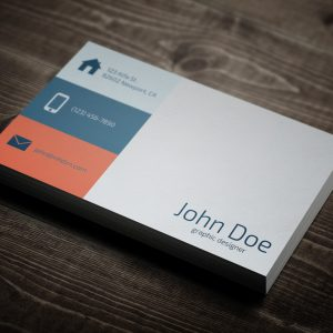 Download: Flat Business Card