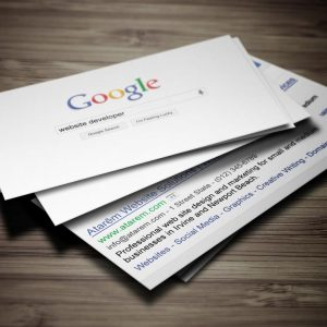 Download: Google Search Business Card