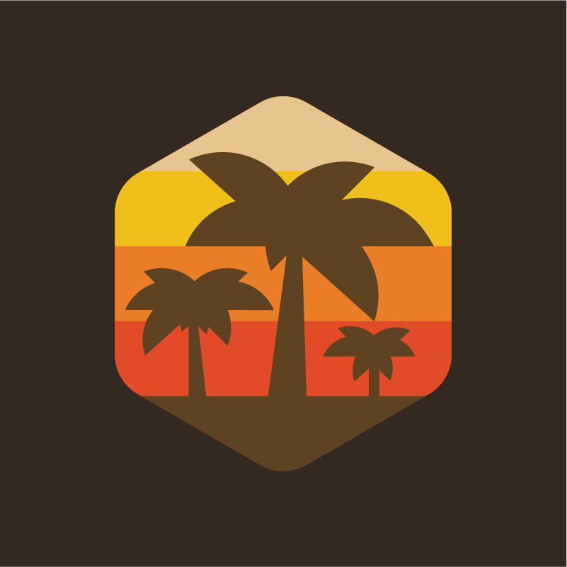Paradise Island Travel Agency Logo
