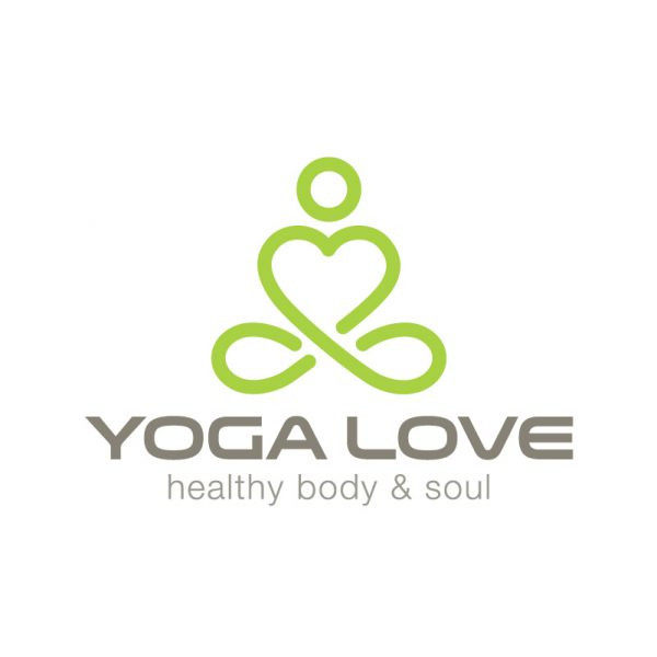 Yoga Studio Love Logo
