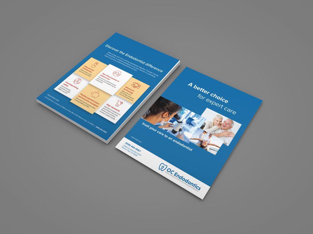 Orange County Dental Office Brochure Flyer