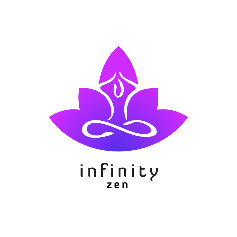 Infinity Zen Yoga Logo