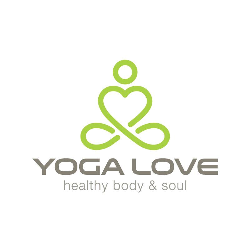 Yoga Studio Love Logo