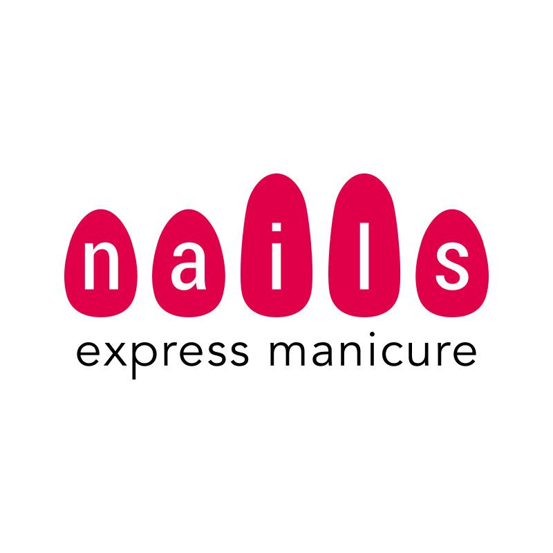 Orange County Nails Express Manicure Logo Design