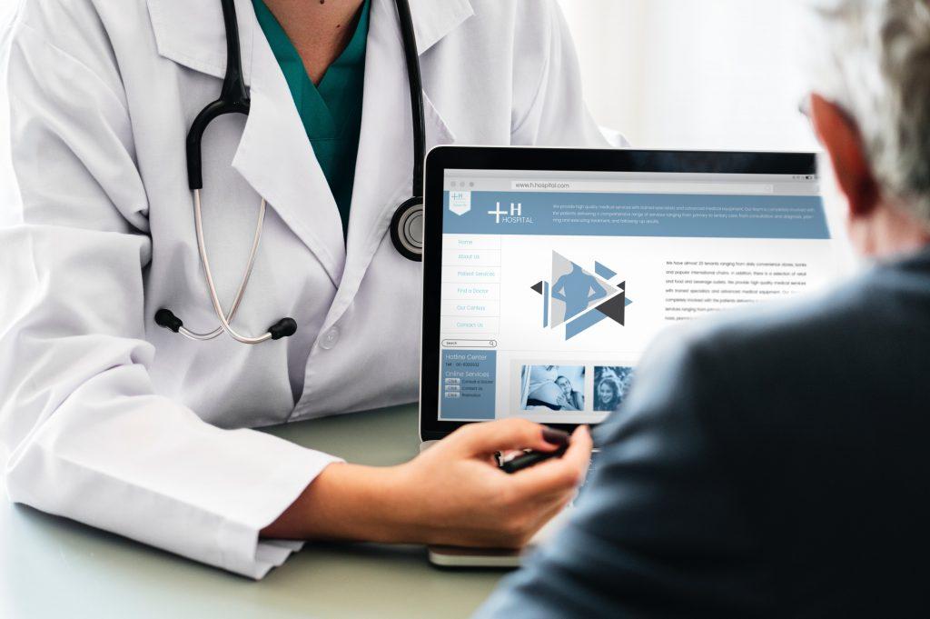 healthcare clinic powerpoint presentation deck orange county