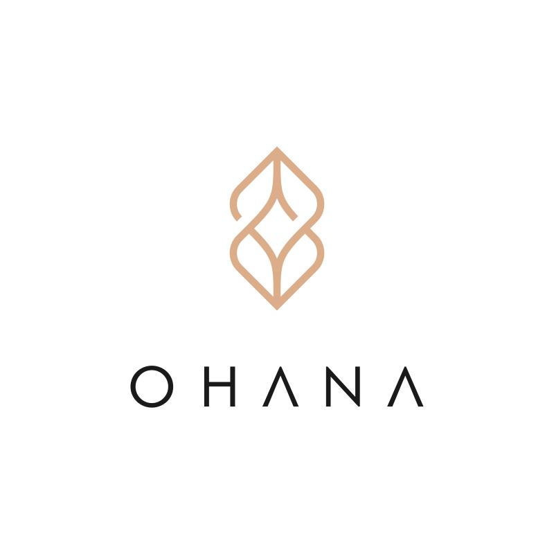 Jewelry Logo Design for eCommerce website ohana